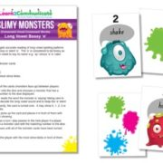 Slimy Monsters Long Vowel Bossy E